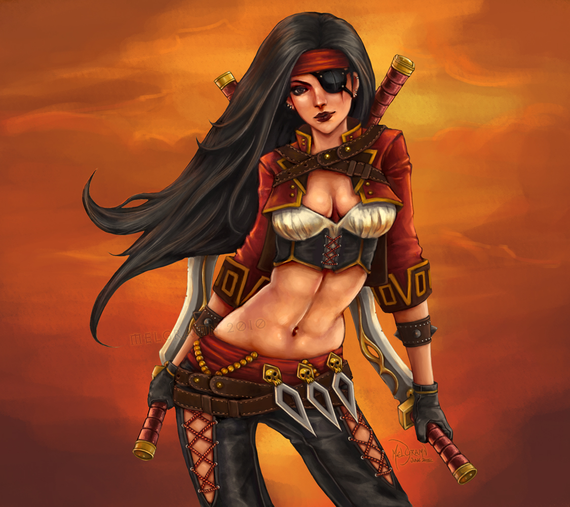 Katarina - Gangplank's Wench by Melgramn