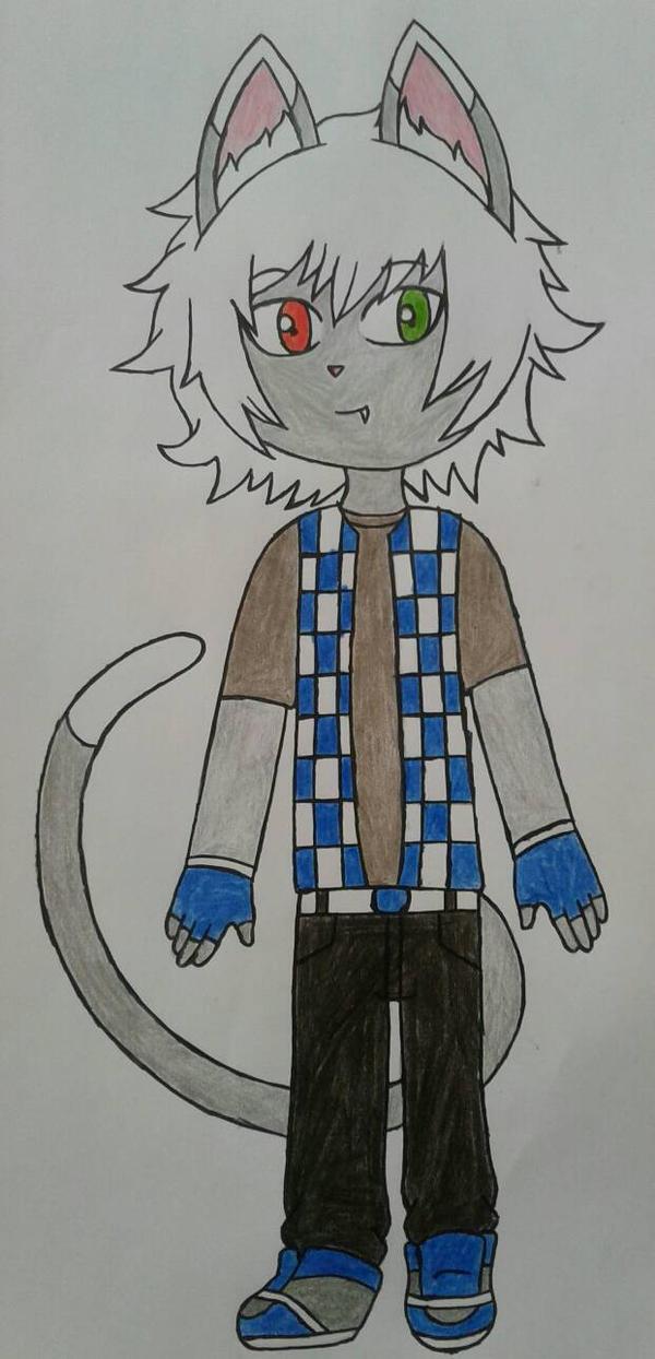 Tsubasa cat oc by Lobita02