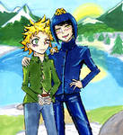 Creek and stripe by Kawaii0Saurus