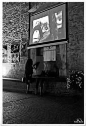 Two Girl Watching
