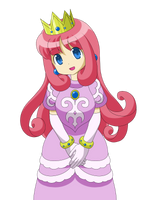 Princess Shokora from Wario Land 4 by Nekomi4