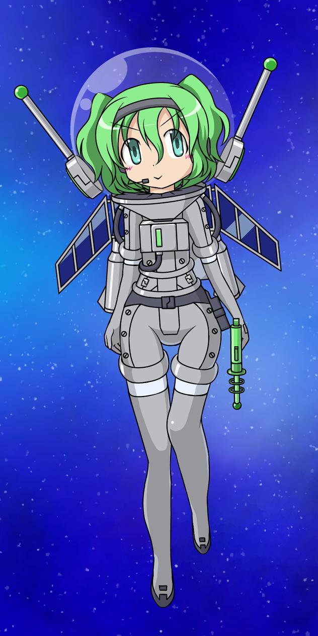 My original spacesuit by Nekomi4 on DeviantArt