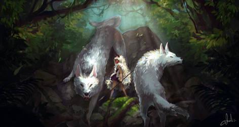 The Wolf Clan and Princess Mononoke