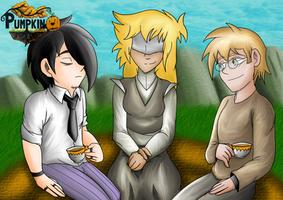 Tea With Friends .:Pumpkin-Online Fanart:. by Ferdie-Vampyr