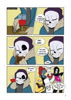 Under-Upper AU: Ch1 Page2 by MichPajamaArtist