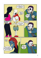 Under-Upper AU: Ch1 Page 4 by MichPajamaArtist