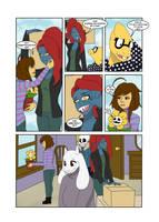 Under-Upper AU: Ch2 Page5 by MichPajamaArtist