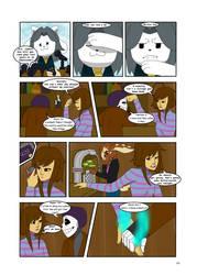 Under-Upper AU: Ch3 Page2 by MichPajamaArtist