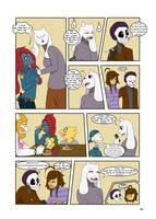 Under-Upper AU: Ch3 Page5 by MichPajamaArtist