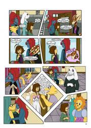 Under-Upper AU: Ch4 Page1 by MichPajamaArtist
