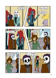 Under-Upper AU: Ch4 Page4 by MichPajamaArtist