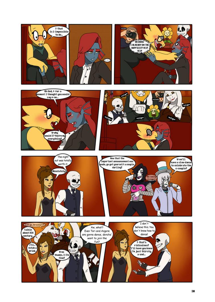 Under-Upper AU: Ch5 Page 4 by MichPajamaArtist