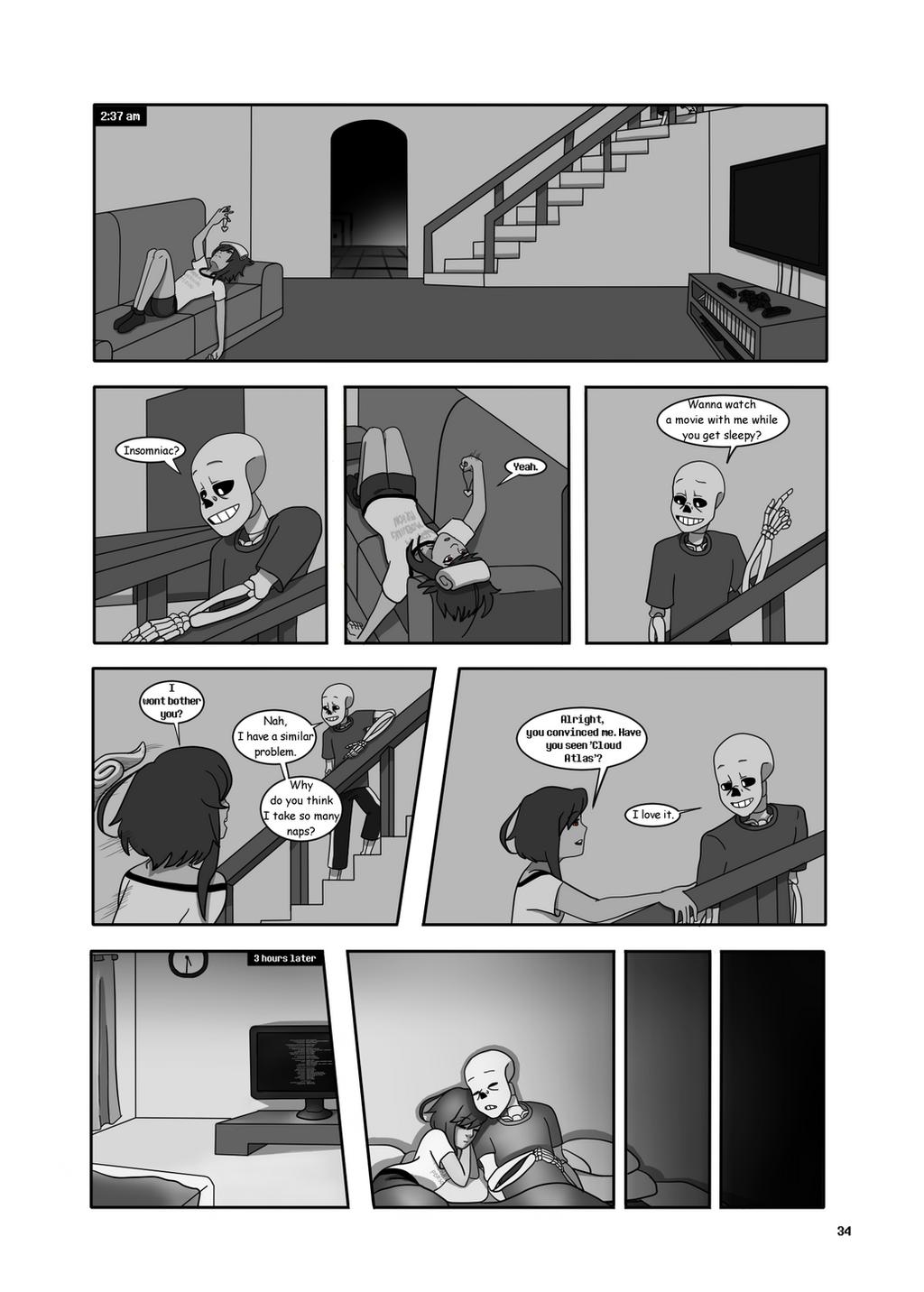Under-Upper AU: Ch6 Page 1 by MichPajamaArtist