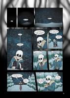 Under-Upper AU: Ch6 Page 2 by MichPajamaArtist