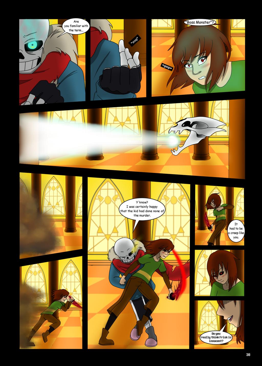Under-Upper AU: Ch6 Page 5 by MichPajamaArtist