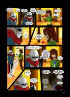 Under-Upper AU: Ch6 Page 6 by MichPajamaArtist
