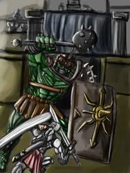Hulk vs by metalgearray09