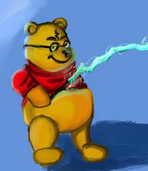 Pooh Potter by metalgearray09