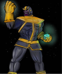The Mad Titan by metalgearray09