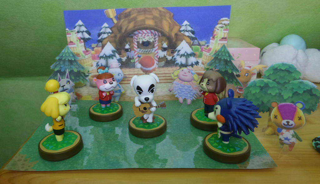 Animal Crossing Amiibo Display by Cookikeks