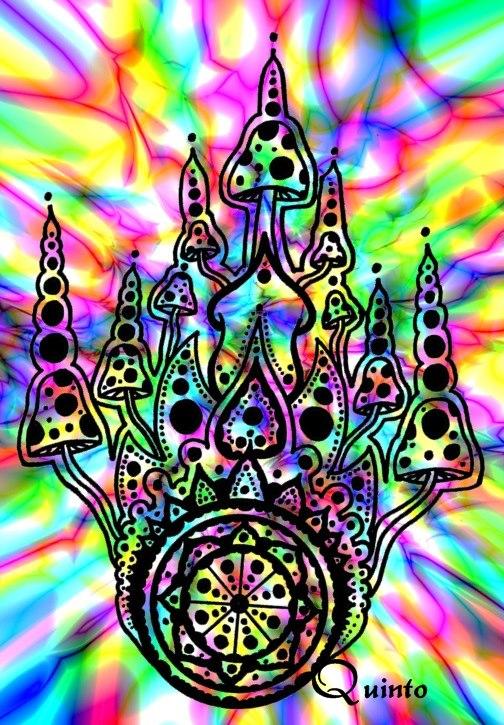 magic mushroom art - photo #17