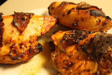 Spicy Broiled Chicken