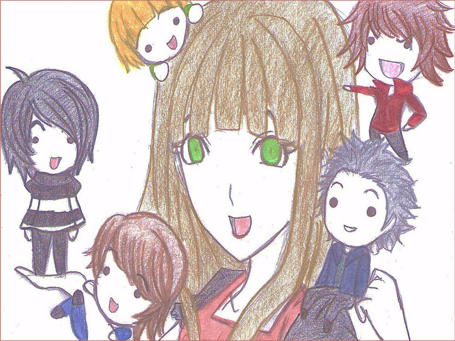 ninjago 5 ninjas manga