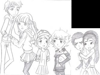 The Walking Dead~Kids Gender-Bend draft by Princess-Riko