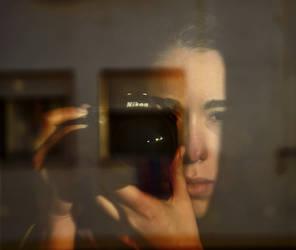 Self-portrait November '13 by Liebegaby