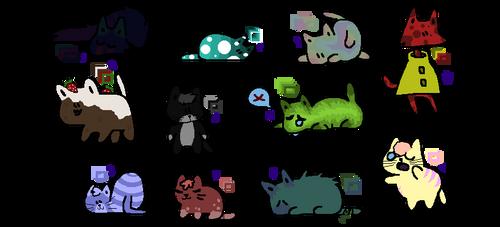 Kitty Adopts! [Open] [Points!]