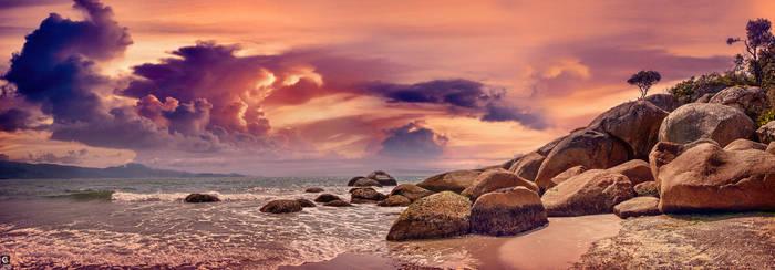 beach by caiusaugustus