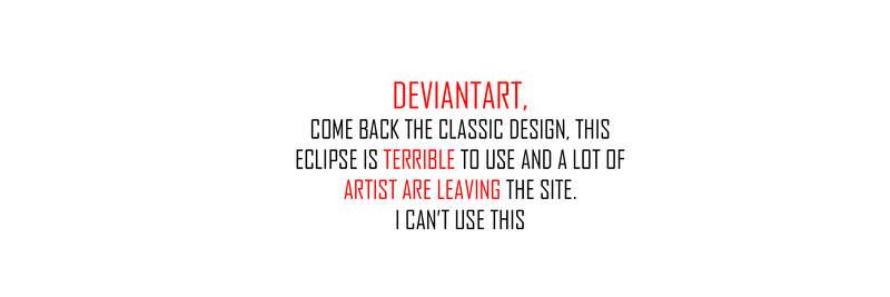 Deviant Art is Dead