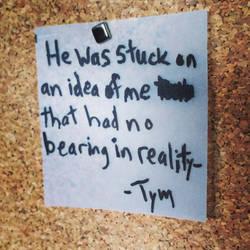 Stuck on an Idea by TenderlySharp
