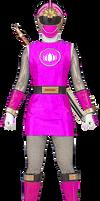 Pink Wind Ranger - Ninja Storm
