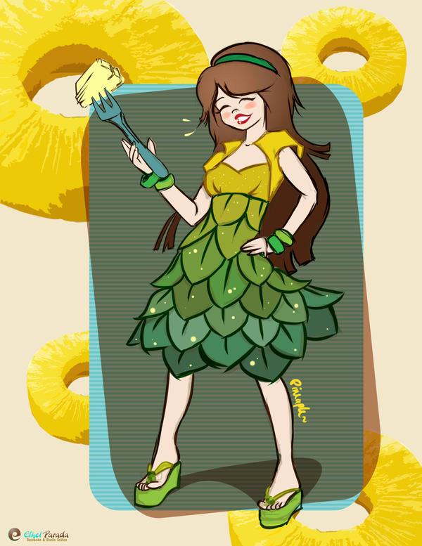 pineapplegirl by Paprika-art