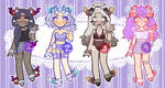 Dreamy Ursa Guest Adopts [CLOSED] by Ink-Palette