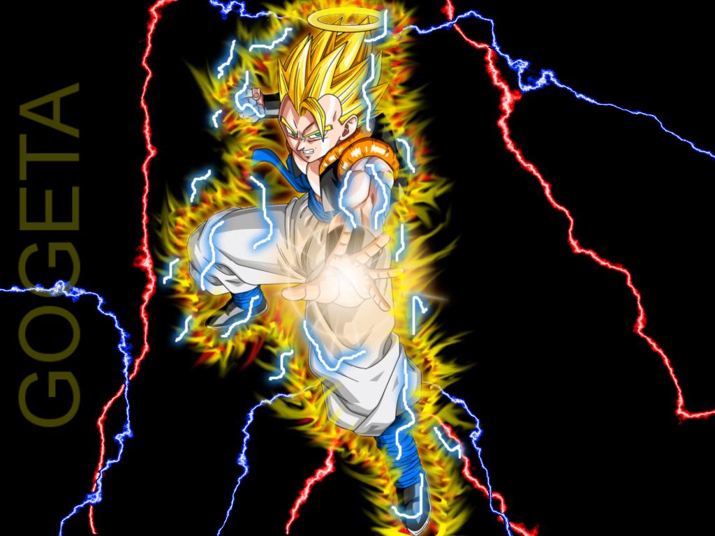 Top Wallpaper Dragon Ball Z Deviantart - dragon_ball_z___super_gogeta_thunder_by_dimav89-d5lu9ln  HD_169663 .jpg