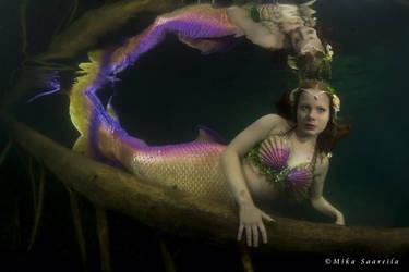 Not so little mermaid by MerenneitoRiia