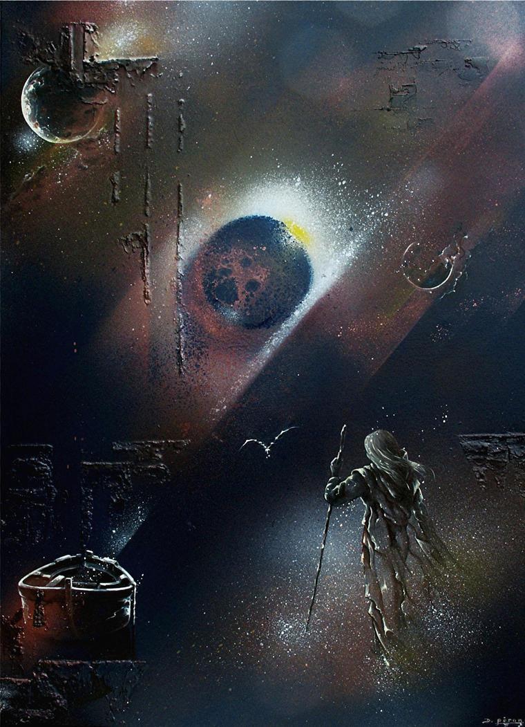 The walker of stars by DanielPeron