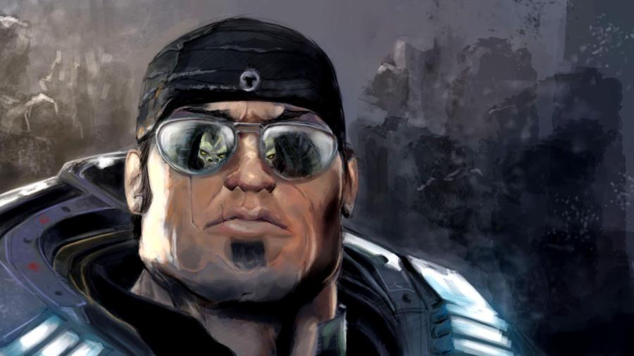 Gears of War 3  Marcus Fenix by myoume