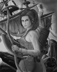 Lara Croft (Tomb Raider 2013) Sketch