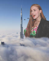 Giantess Sophie Turner by GangstaLilith2