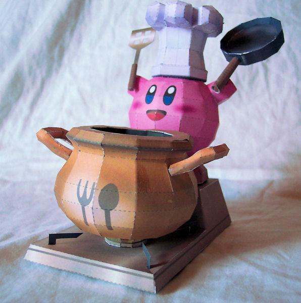 Kirby Final Smash Papercraft by kamibox
