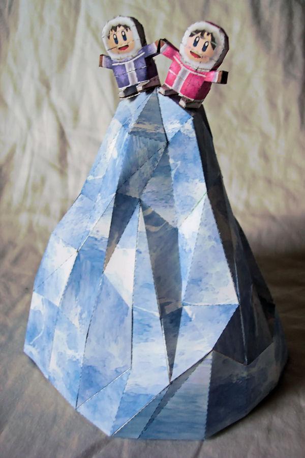 Ice Climbers Smash Papercraft by kamibox