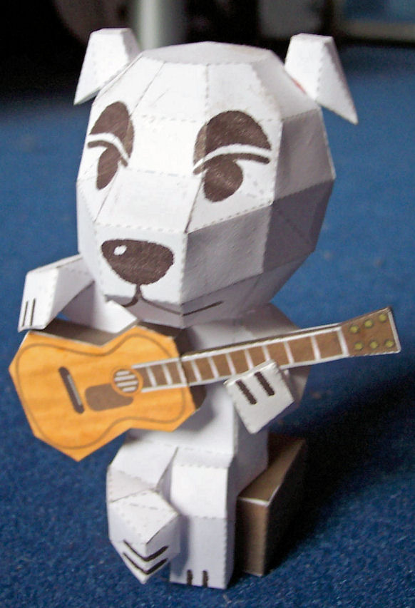 KK Slider Papercraft by kamibox