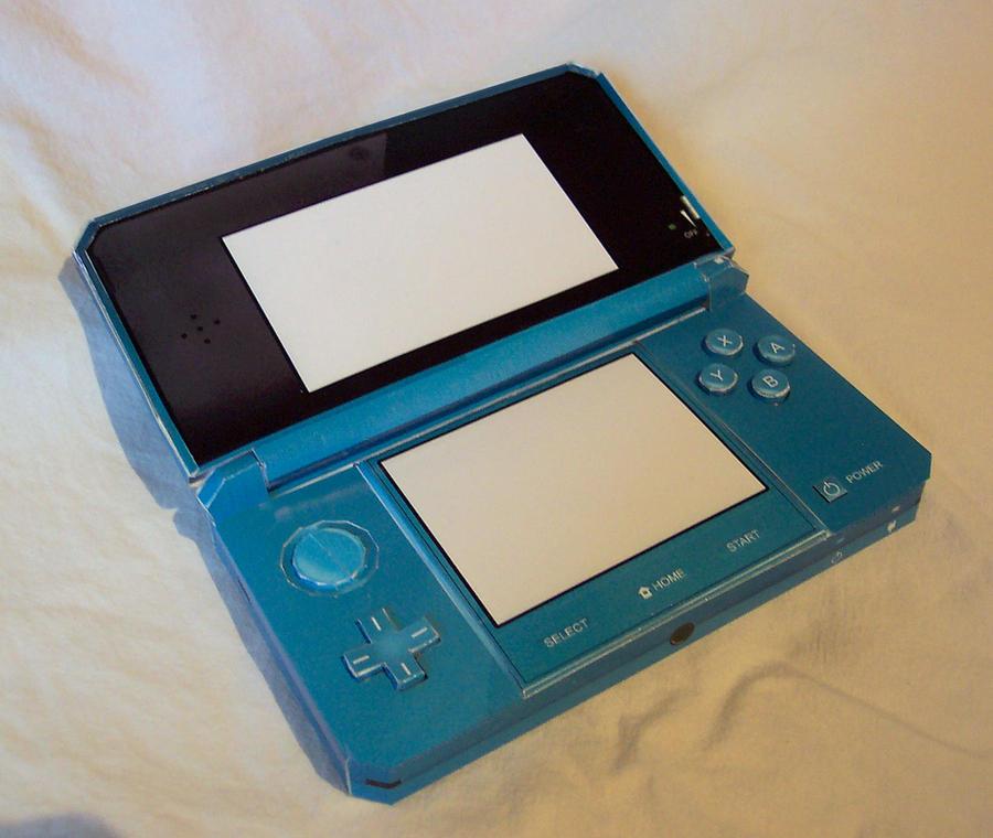 Nintendo 3DS Papercraft