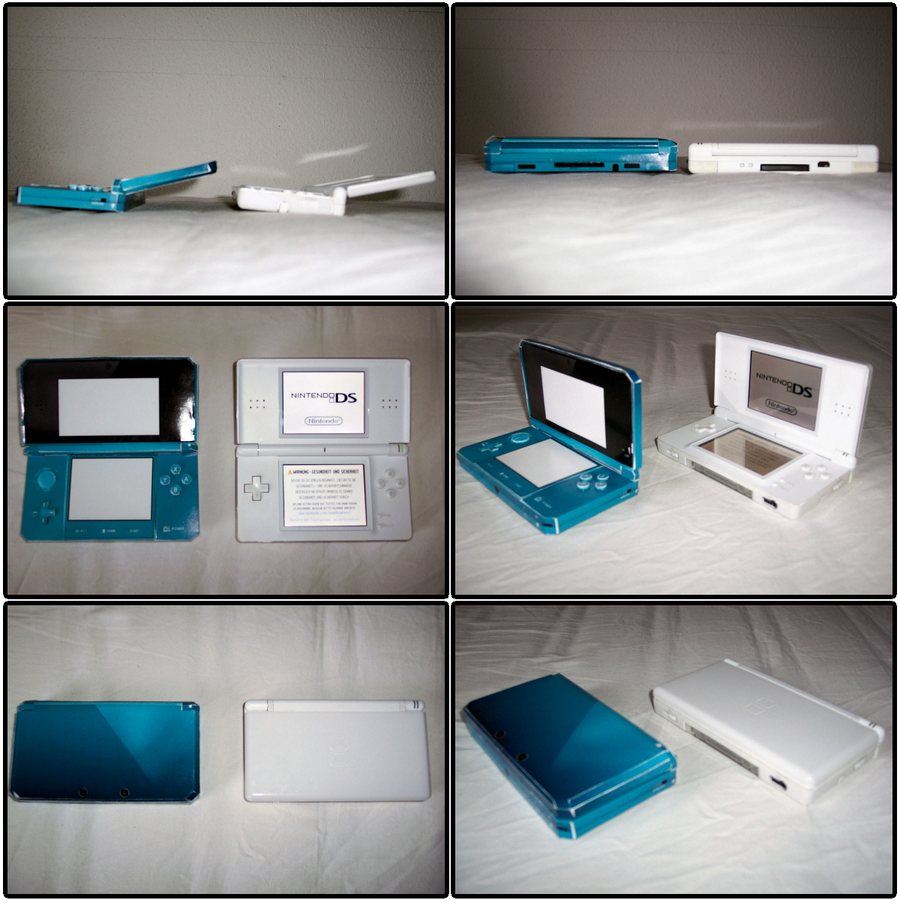 Nintendo 3DS - lite Comparison by kamibox