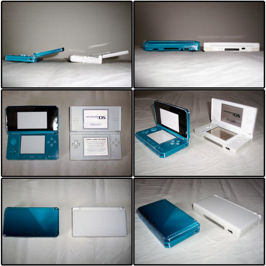 Nintendo 3DS - lite Comparison by kamibox
