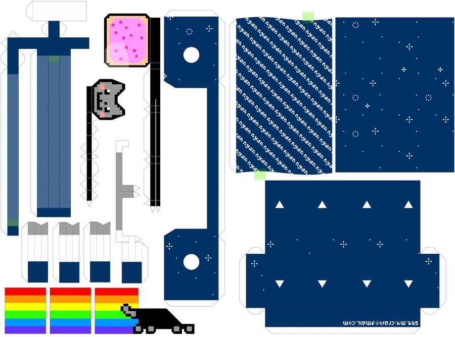 Nyan Cat Machine -Instructions