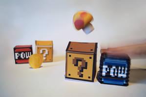 Pneumatic POW-Block Papercraft by kamibox